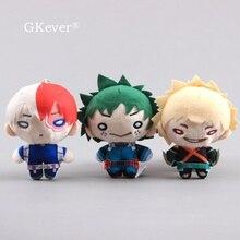 Plush-Keychain Academia Todoroki Gift Stuffed Anime Kids Cartoon Shoto Kawaii 10cm Hero
