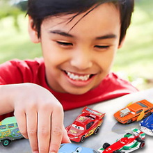 Kid Toys Vehicle Cars Lightning Mcqueen Jackson Storm Christmas-Gift Alloy Metal 1:55 diecast