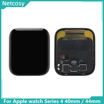 Netcosy Lcd-scherm + Touch Screen Digitizer Panel Assembly Vervanging Deel Voor Apple horloge Serie 4 40mm 44mm lcd-scherm