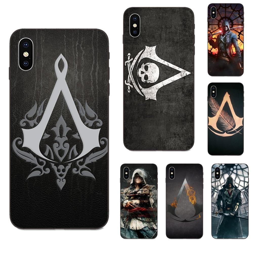Assassins Creed Game Figure Soft Silicone TPU Black Luxury For Xiaomi Redmi Note 2 3 4 4A 4X 5 5A 6 6A 7 Go Plus Pro S2 Y2 image