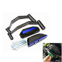 Motorcycle accessories For Kawasaki Z900 2017 2018 Falling Protectors CNC Aluminum Frame Slider Anti Crash Cap Engine protection