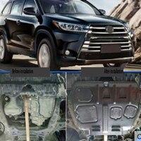 Applicare il 2018 per Toyota highlander piastra di protezione del motore 18 sotto il telaio in acciaio di plastica lamiera di protezione