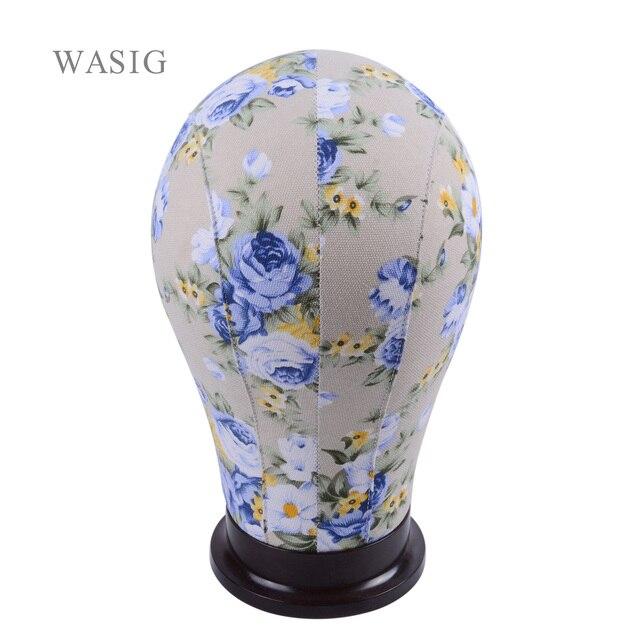 Modèle de tête de Mannequin en toile pour extensions capillaires, toupet, Lace Wig, fabrication de coiffe, présentoir