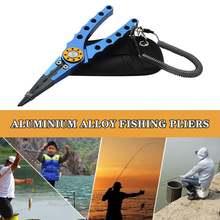 Рыболовные плоскогубцы ножницы из алюминиевого сплава инструмент