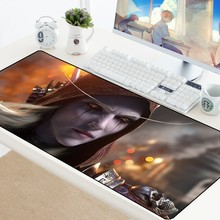 70X30CM Sylvanas WOW Gaming Mouse Pad Large XL Fashion Mouse Mat World of Warcraft Mousepad For Gamer Laptop Rubber Notebook Pad(China)