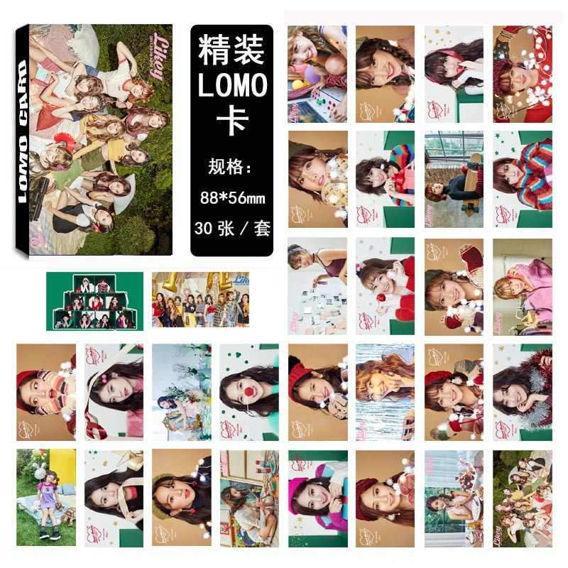 30pcs/set Kpop Twice photo card set new album HD good quality fashion TWICE Kpop photocard set for fans collection new arrivals