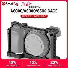 SmallRig  A6300 Camera Cage Stabilizer for Sony A6300 / for Sony A6000 / Nex 7 Camera W/ Shoe Mount Thread Holes For DIY Options