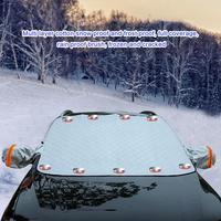 Auto Front Fenster Dicken Schnee Block Auto Isolierung Sonnencreme Externe Vorder Block Sonnenschutz Auto Suv Universal
