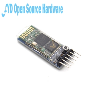 Image 3 - 5pcs HC 05 HC 05 master slave 6pin JY MCU anti reverse, integrated Bluetooth serial pass through module, wireless serial