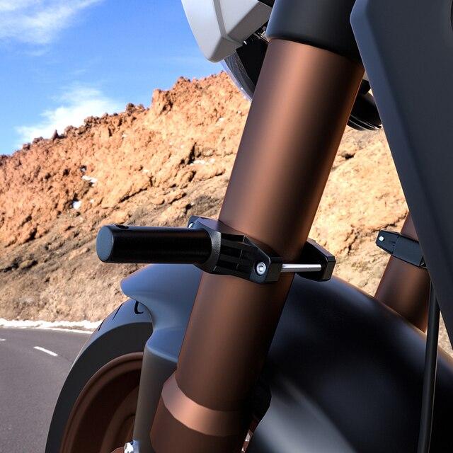 soporte de extensi/ón de soporte de extensi/ón Mabor Soporte de montaje universal para parachoques de motocicleta modificado para faros delanteros