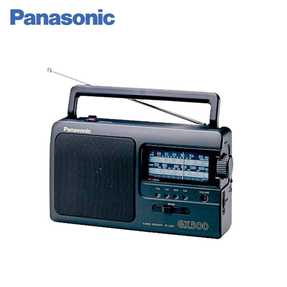цена Panasonic Radio RF-3500E9-K Portable FM SW MW LW antenna telescopic antenna and built-in column speaker онлайн в 2017 году
