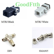 Fiber Adapter Adaptor Coupler MTRJ MT-RJ DIN SMA905 Low Insertion Loss GoodFtth 100pcs/lot