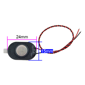 Image 3 - Ghxamp 24*15 Mm Luidspreker 8ohm 1 W Mini Ovale Luidspreker Voor 1524 Tablet Computer 10 Pcs