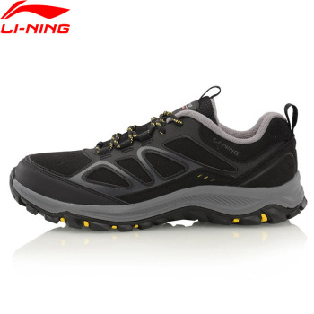 Li-Ning Men Outdoor Series Hiking Shoes Anti-Slippery Winter LiNing WARM SHELL Sport Shoes Wearable Sneakers AHTL029 XYD126