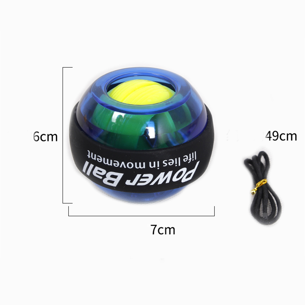 Powerball Carpal Training Apparatus Power Wrist Ball Trainer LED Gyro Ball Essential Spinner Antistress Toy