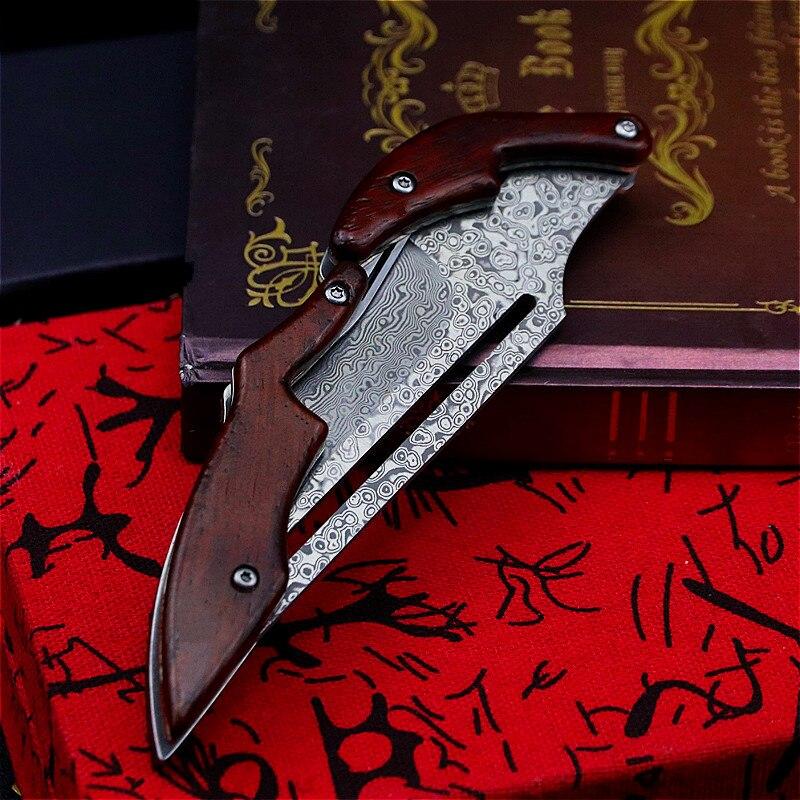 Tools : Mechanical folding tactical Sharp Knife Senior designer custom folding knife jungle hunting knife pocket rescue knife