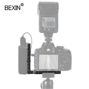 Image 2 - Universal camera l bracket plate quick release plate L shape plate dslr mount adapter holder for CamFi controller arca camera