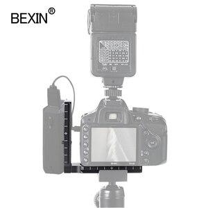 Image 2 - العالمي كاميرا l قوس لوحة الإفراج السريع لوحة L شكل لوحة dslr محول تركيب حامل للكاميرا كاميرا تحكم CamFi arca
