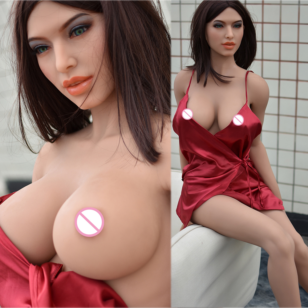 150cm High Quality Big Breasts Real Silicone <font><b>Sex</b></font> <font><b>Doll</b></font> Man Realistic Vaginal Oral <font><b>Cat</b></font> Ass Tpe And Metal Skeleton Sexy Beauty image