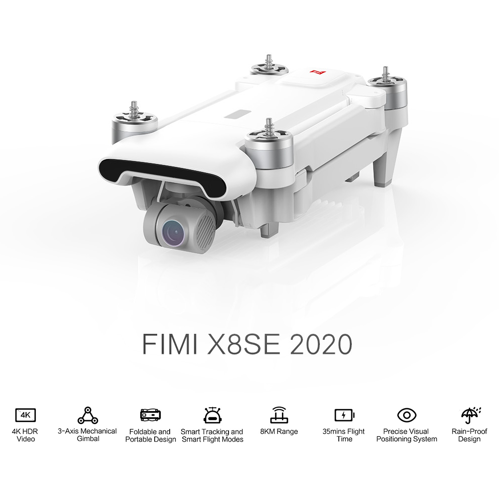 Original FIMI X8 SE 2020 RC Drone 3Axis Gimbal 8K Camera Quadcopter RTF Helicopter HDR GPS Positioning FPV 33min Flight X8 Bag 2