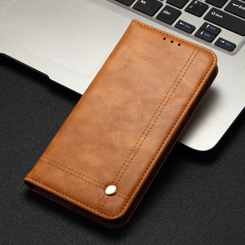 H38f20d2e4a634a3aa3f384a40a1a3627T Luxury Retro Slim Leather Flip Cover For Xiaomi Redmi Note 8 / 8T / 8 Pro Case Wallet Card Stand Magnetic Book Cover Phone Case