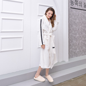 Image 2 - GIANTEX femmes salle de bain serviettes de bain pour adultes peignoir pyjamas corps Spa Robe de bain serviette de bain toalhas de banho