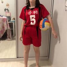 Костюм для косплея старшей школы Nekoma No.1 Tetsurou Kuroo No.5 Kenma Kozume Косплей волейбол команда Джерси Спортивная форма 2 шт.
