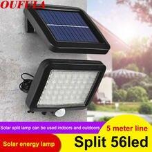 Уличные Настенные светильники на солнечной батарее Индукционная