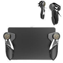 NEUE Ipad Trigger PUBG Spiel Controller Sechs Finger L1R1 Feuer Ziel Taste Gamepad Joystick Für Tablet Smartphone Spiel Zubehör