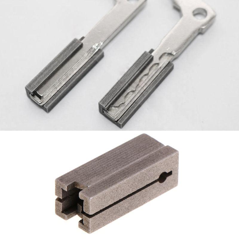 Key Clamping Fixtures Duplicating Cutting Machines For Benz Car Key Copy Tool
