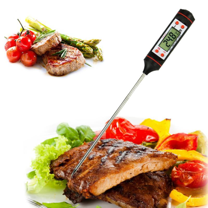 Digital Kitchen Thermometer For Meat Water Milk Cooking Food Probe BBQ Electronic Oven Thermometer Kitchen Tools Hot Sale TSLM1
