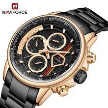 Часы наручные naviforce Мужские кварцевые оригинальные Роскошные