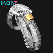 Bird cock Cage Chastity Device plastic with 5 rings slave BDSM bondage penis lock restraint male sex toys for men