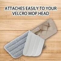 6 pacote Almofadas Mop Molhado Seco Almofada de Microfibra Mop Limpeza Mop Refis Chefes de Substituição Para A Maioria De Pulverização Mops E Revelar mops|Esfregão| |  -