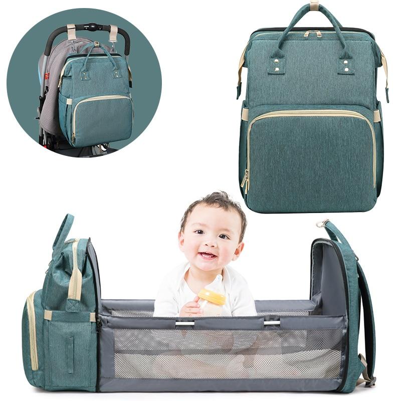 Tragbare bett faltbare babybett reise Für neugeborene baby bett Tasche Rucksack Atmungs krippen Infant Schlaf Korb Kostenloser versand