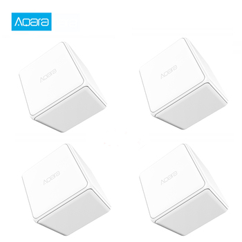 XIaomi Aqara Magic Cube Control Zigbee Version Controlled by Six Actions For Smart Homes Mi Home Magic Cube With Gateway Hub
