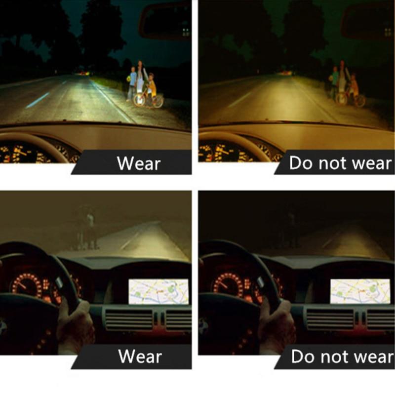夜間走行強化された光ドライバーメガネ新サングラスナイトビジョンサングラス男性ファッション偏光送料無料