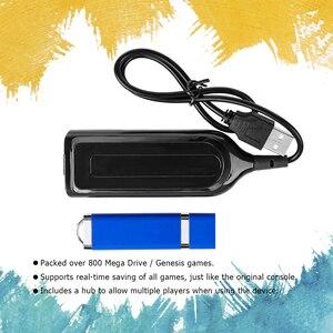 Image 3 - 813 게임 MegaDrive MD 미니 게임 스틱 레트로 게임 콘솔 스틱 4 포트 USB 허브 용 Genesis 용 True Blue Mini Ultradrive Pack