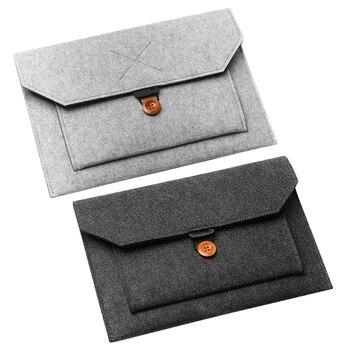 Soft Bussiness Bag Case for Apple  Air Pro Retina 13 Laptop for Mac Book Tablet Bag