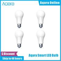 Aqara Zigbee Smart Led-lampe 9W E27 2700K-6500K Zigbee Version Weiß Farbe Smart Remote LED lampe Licht Für Xiaomi Mi Home Kit App