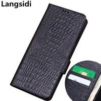 Genuine Leather Wallet Capa Business Phone Case For Umidigi One Max/Umidigi One/Umidigi One Pro Flip Case Credit Card Money Slot