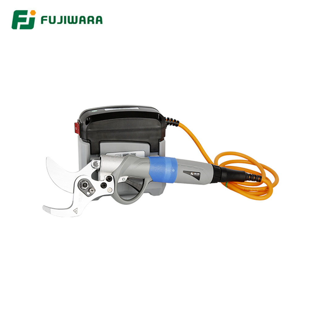 FUJIWARA Cordless Electric Pruning Shears 36V 4AH 30mm-45mm Thick Branch Shear Garden Scissors Powerful  Labor-saving