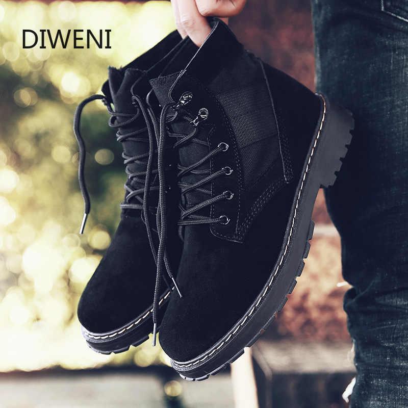 Erkekler çöl taktik askeri botlar Mens iş güvenliği ayakkabı Zapatos De Mujer ordu çizme Zapatos ayak bileği dantel-up savaş çizmeler