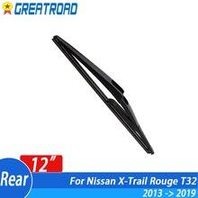 Wiper T32 Nissan x-Trail Rear-Wiper-Blade Windscreen for Rouge 12-Tailgate