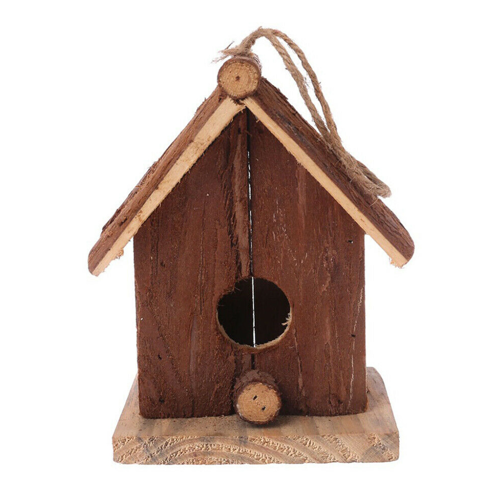 Bird Nest House Hut Cage Breeding Nest Feeder Pet Parrot Pigeon Cage Toy