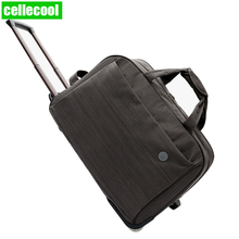цена на business men Women Trolley Luggage Rolling Suitcase Brand Casual Thickening Rolling Case Travel Bag on Wheels Luggage Suitcase