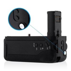 Image 4 - Hot 3C Vg C2Em Battery Grip di Ricambio Per Sony Alpha A7Ii/A7S Ii/A7R Ii Digital Slr di Lavoro Della Macchina Fotografica Con np Fw50 Batteria