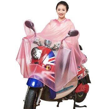 Adult Women Hiking Long Raincoat Motorcycle Ladies Raincoats Travel Waterproof Transparent Capas De Chuva Poncho Rainwear KK60YY