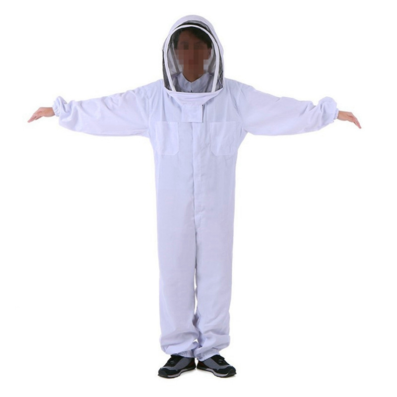 PPE Suit Anti Bite Safety Clothing Work Outdoor Protective Suit Veil Hood Hat Clothes Beekeeping  Beekeepers Equipment