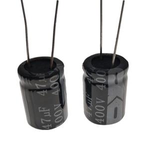 Image 1 - Condensador electrolítico RADIAL de aluminio, 5 ~ 100, unids/lote, 400V, 47UF, 16*25, 20%, 47000NF 20%